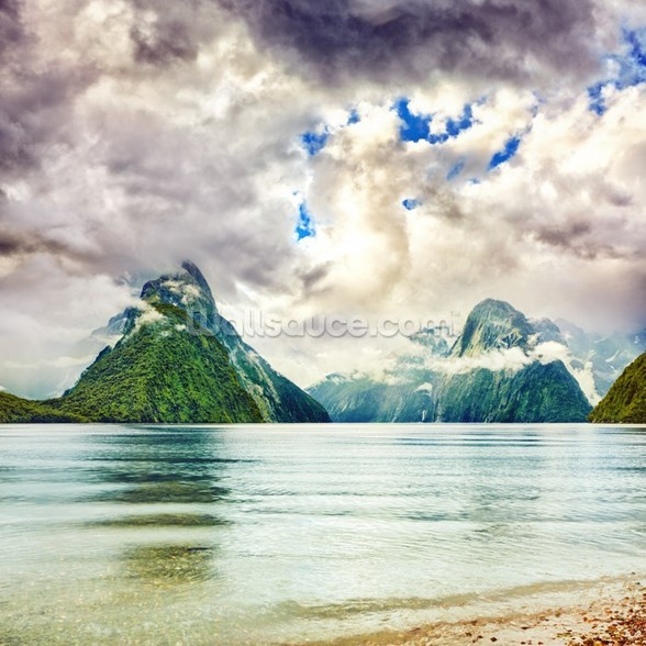 Milford Sound wall mural