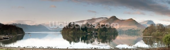 Derwent Water, Lake District wallpaper mural