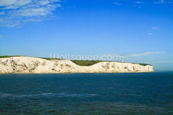 White Cliffs of Dover Panoramic wall mural