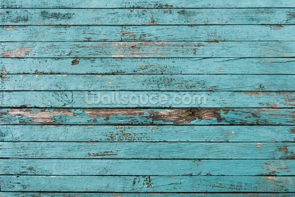 Old Painted Boards wall mural