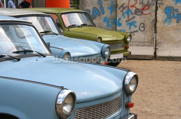 Trabants wall mural