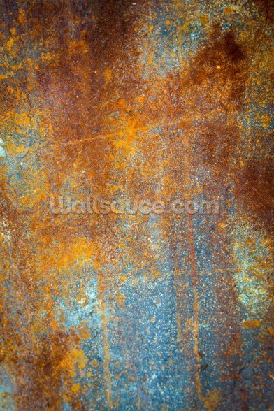 Beautiful Rust mural wallpaper