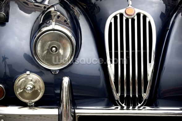Vintage Car mural wallpaper