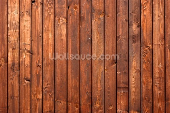 Wood Texture Dark Finish mural wallpaper