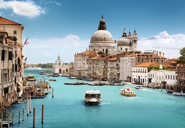 The Grand Canal, Venice wall mural