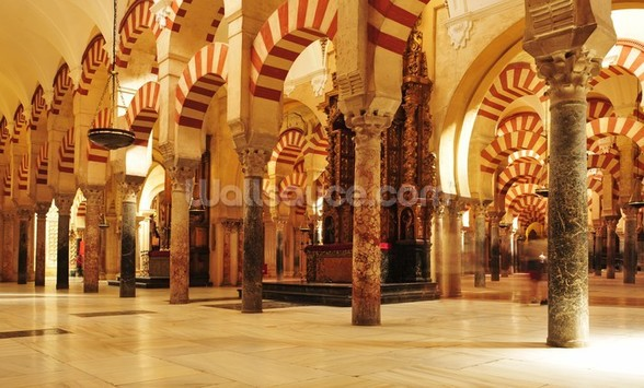 Moorish Architecture, Cordoba wall mural