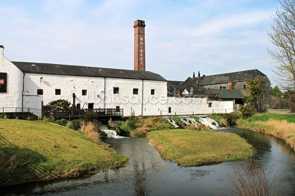 Distillery At Kilbeggan mural wallpaper