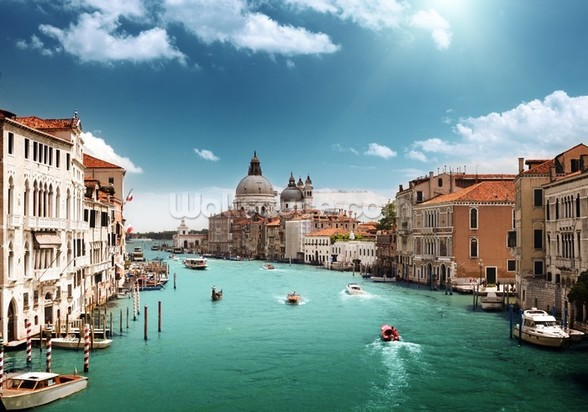 Venice Grand Canal wall mural
