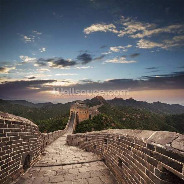 Great Wall of China wallpaper mural