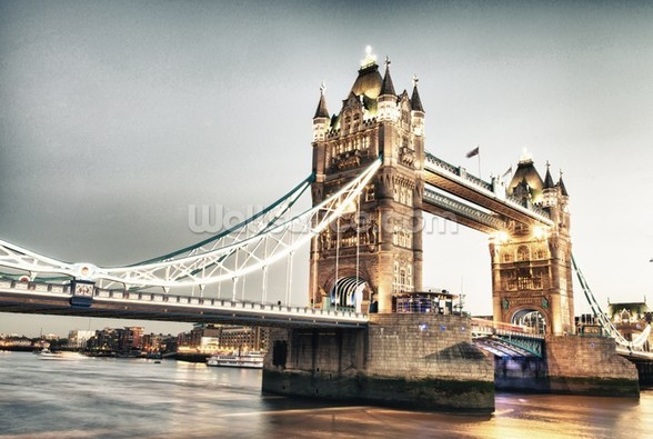Tower Bridge wallpaper mural