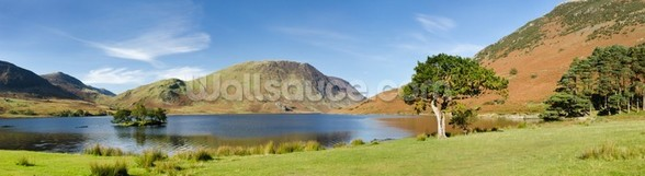 Crummock Water Panoramic wall mural