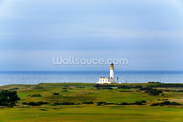 Turnberry Lighthouse mural wallpaper