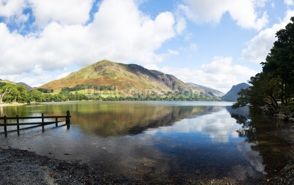 Buttermere Reflections wall mural