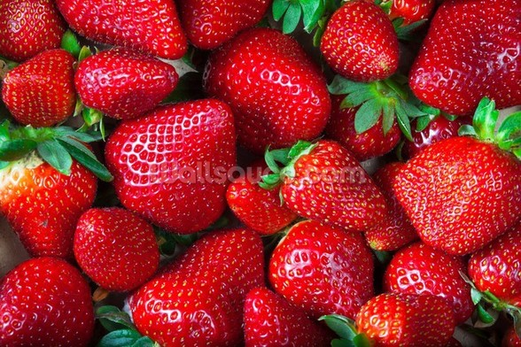 Strawberries Fresh wall mural