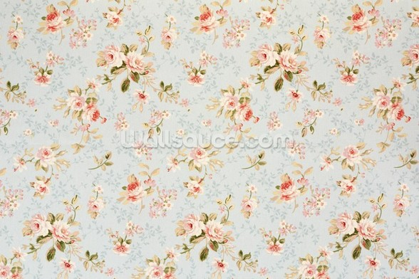 Rose Floral Tapestry wallpaper mural