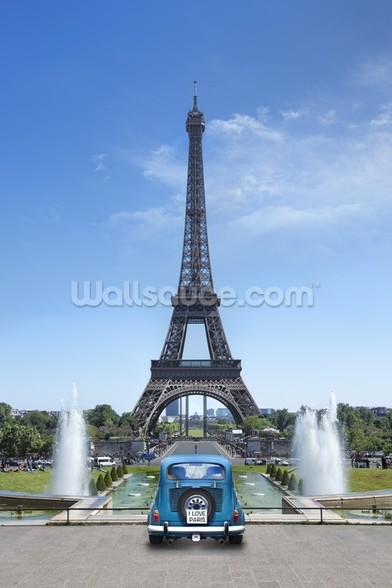 Tour Eiffel Paris wallpaper mural