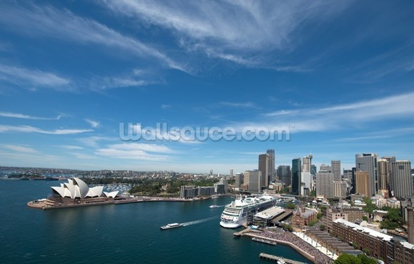 Sydney Skyline and Opera House wall mural