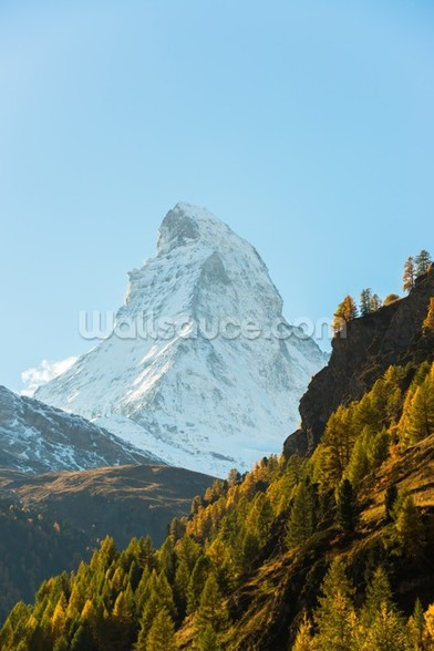 Matterhorn, Swiss Alps wallpaper mural