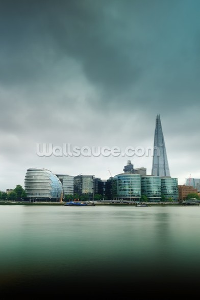 The Shard, London wall mural