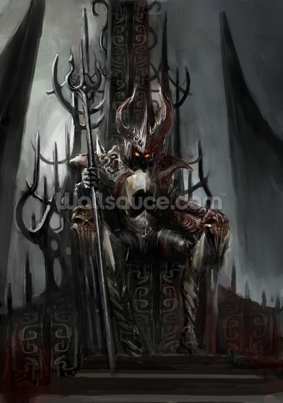 Dark King wall mural