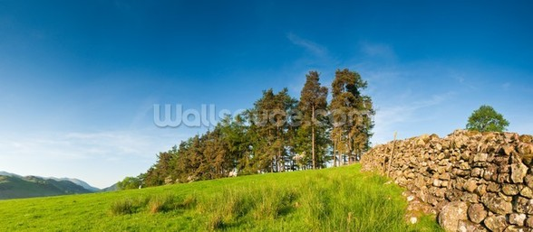 Rural Lake District wallpaper mural