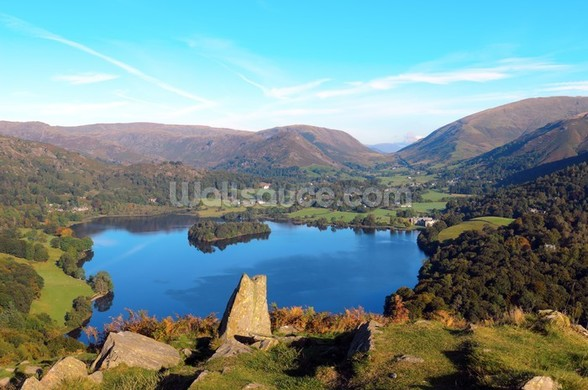 Grasmere from Loughrigg Fell wall mural
