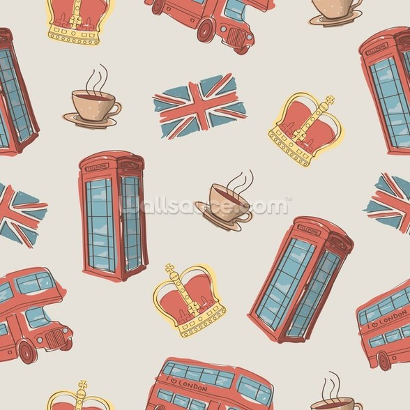 London Symbols wallpaper mural