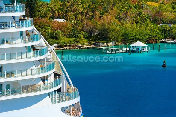Cruise Ship Decks wall mural