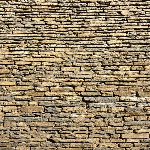 Stone Wall - Sandstone wallpaper mural