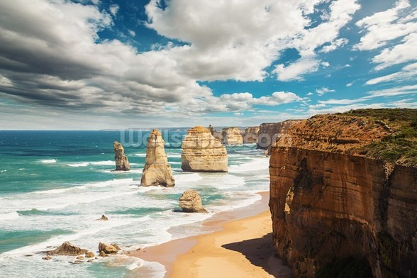 Great Ocean Road Australia wall mural