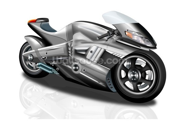 Superbike Concept mural wallpaper