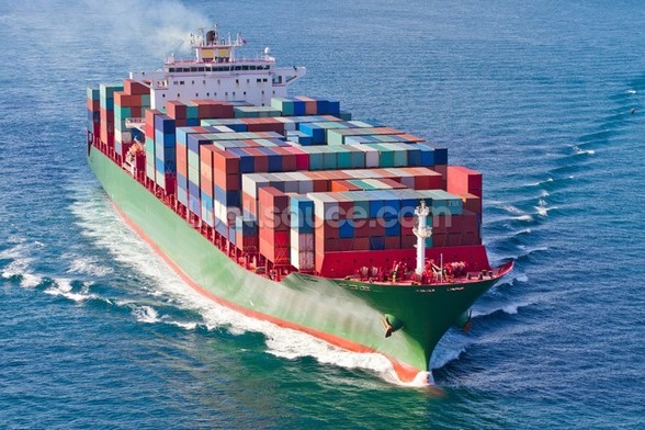 Container Ship mural wallpaper