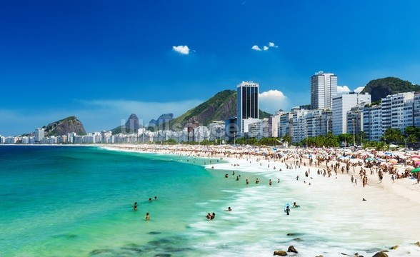 Copacabana Beach wall mural