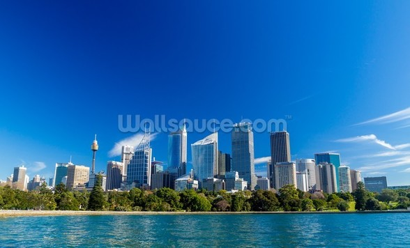 Downtown Sydney, Australia mural wallpaper