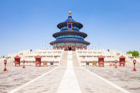 Temple of Heaven wallpaper mural