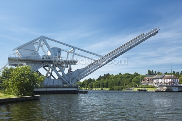 Pegasus Bridge wall mural