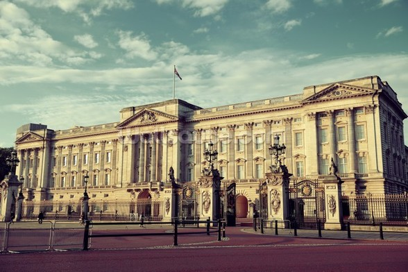 Buckingham Palace wall mural
