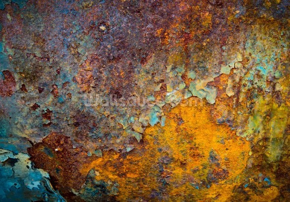 Core of Corrosion wall mural