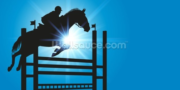 Show Jumper wall mural