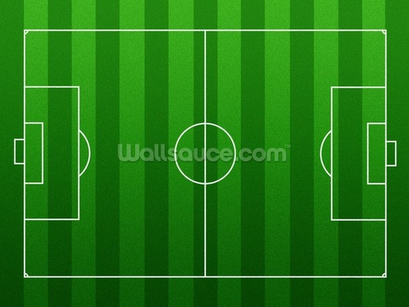 Football Pitch mural wallpaper