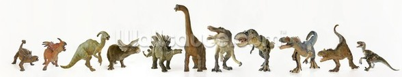 Dinosaurs Row wall mural