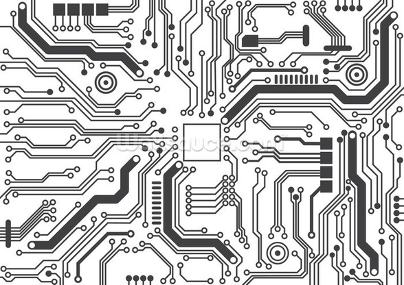 Circuit Board Background Texture mural wallpaper