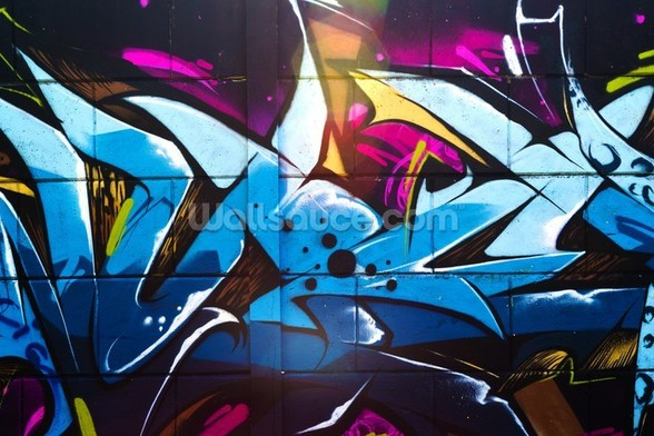 Graffiti - Urban wall mural
