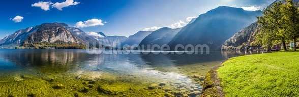 Austrian Alps Panorama mural wallpaper