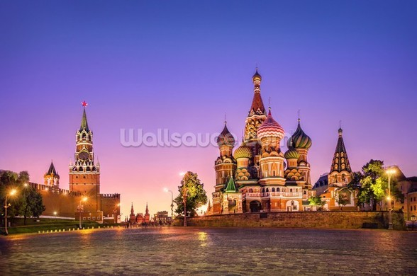 Russia mural wallpaper