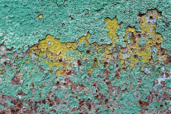 Patina mural wallpaper