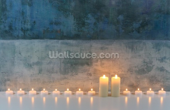 Candle Calm mural wallpaper