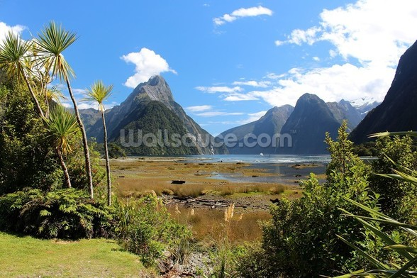 Milford Sound View wallpaper mural