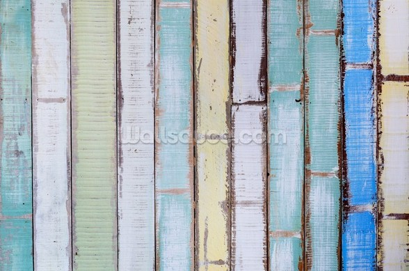 Old Vintage Wood Textured wall mural
