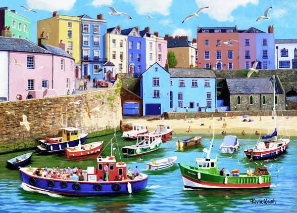 Happy Days Tenby wallpaper mural